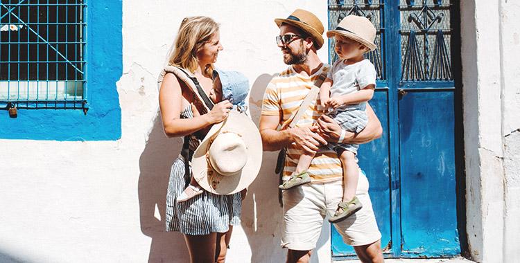 viajar com os filhos