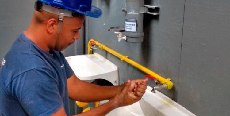 Conscientizamos diariamente nossos colaboradores sobre a importância de seguir as recomendações de higiene da OMS