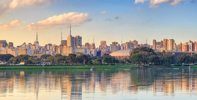 Parque ibirapuera é um dos melhores para passear com a família