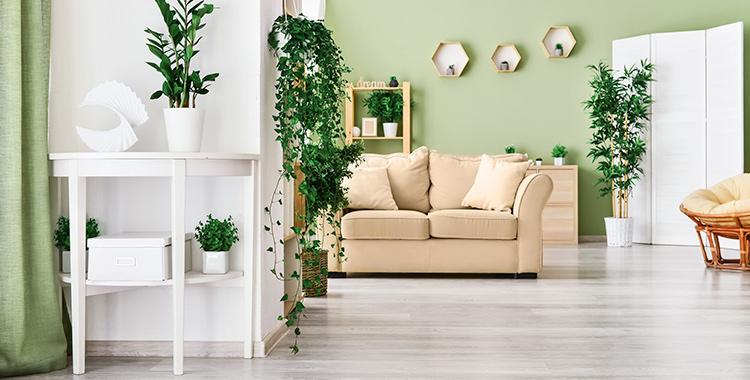 foto da sala de estar de um apartamento seguindo tendências de decoração que estão em alta
