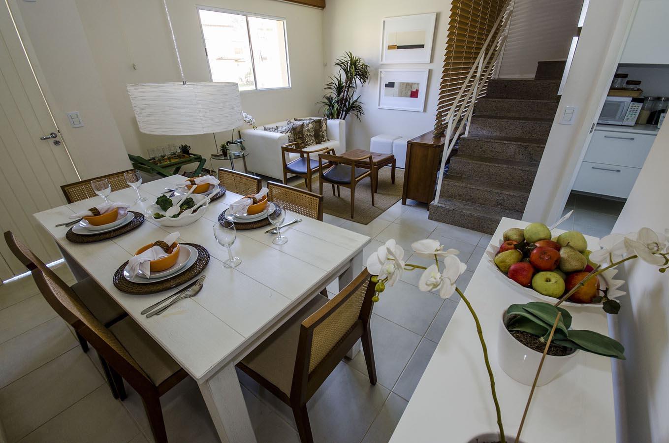 Foto do decorado Sahy Res. Resort Mar Azul - Sala de jantar