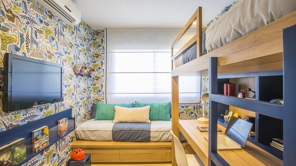 Apartamento decorado na Torre