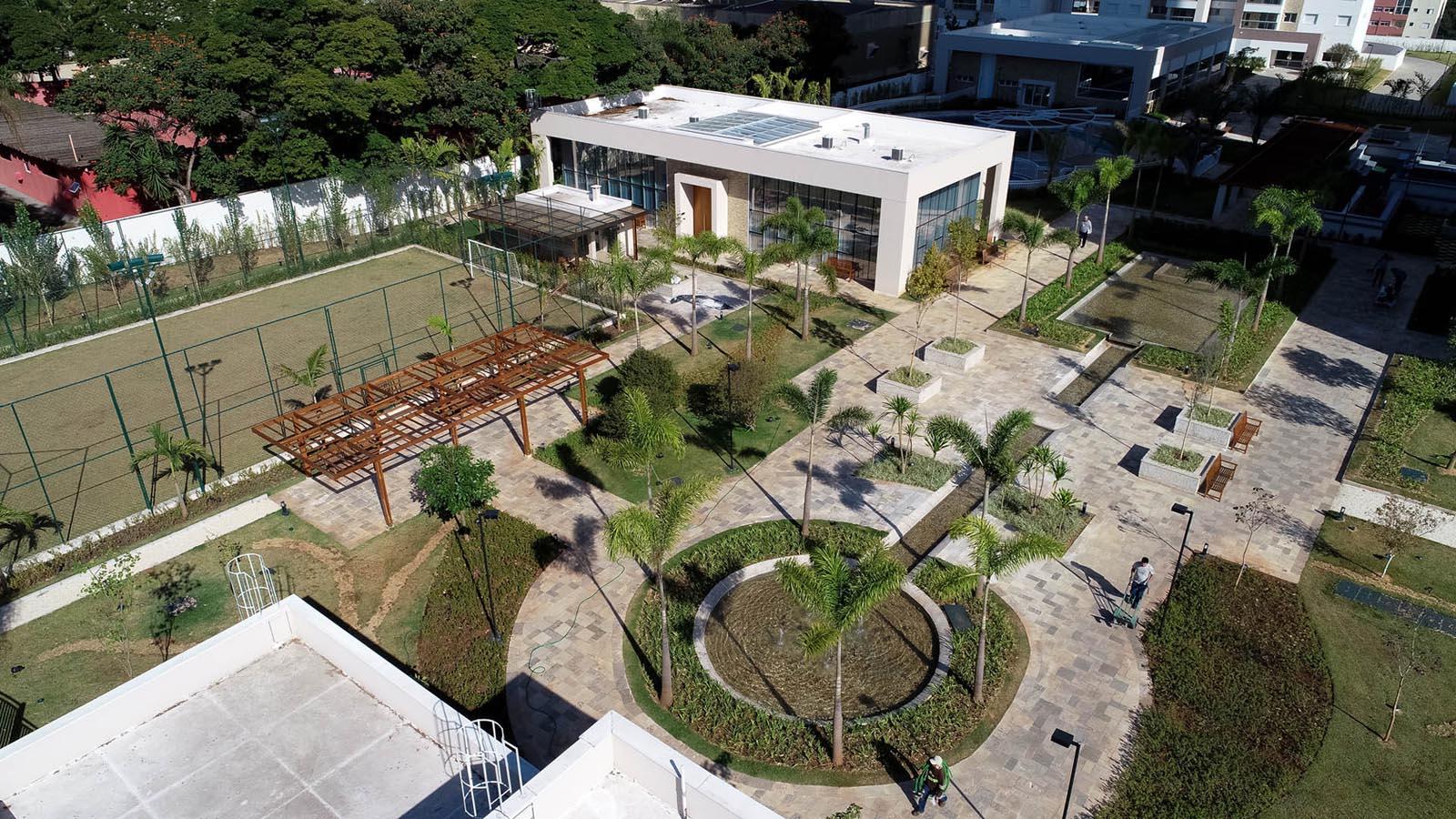 Foto da Praça de Boas-Vindas