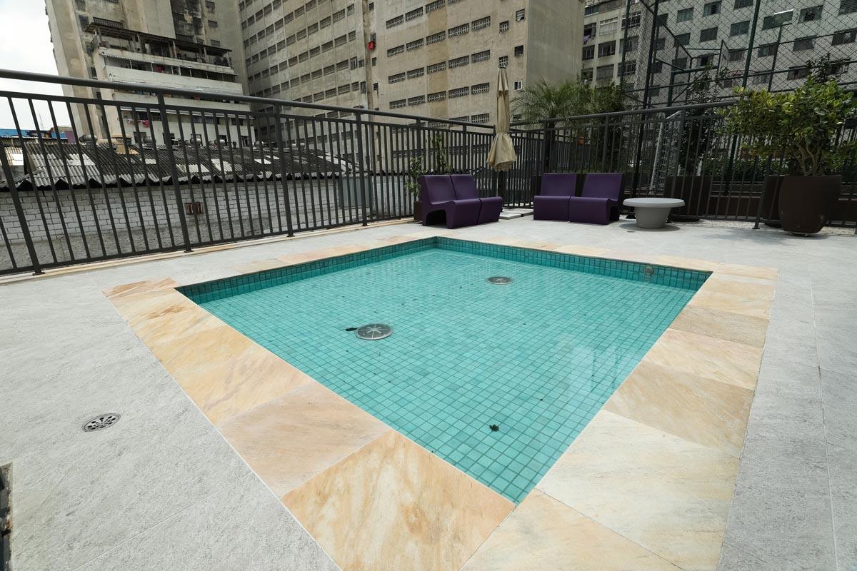 Foto da piscina infantil