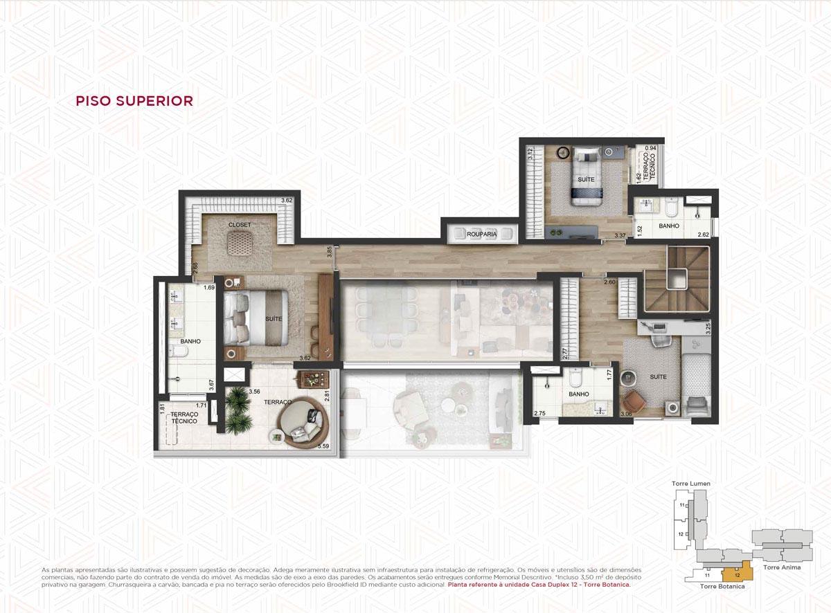 Casa Duplex 260m² priv.(Piso Superior)