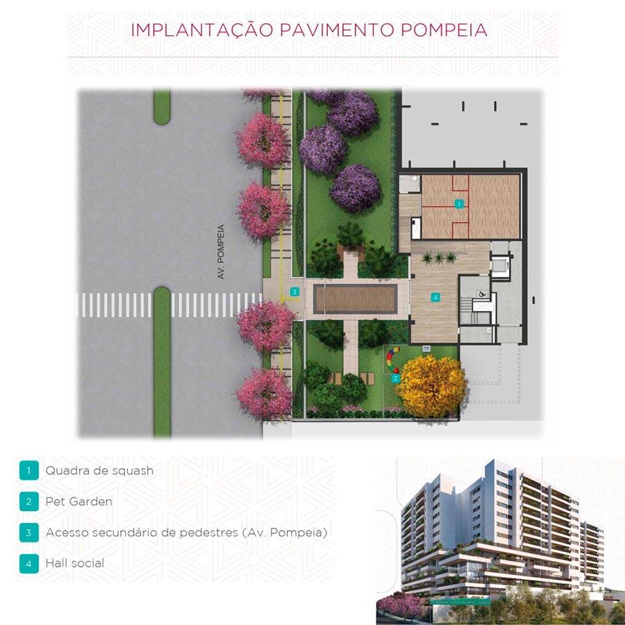 Implantação - Pav. Av. Pompéia