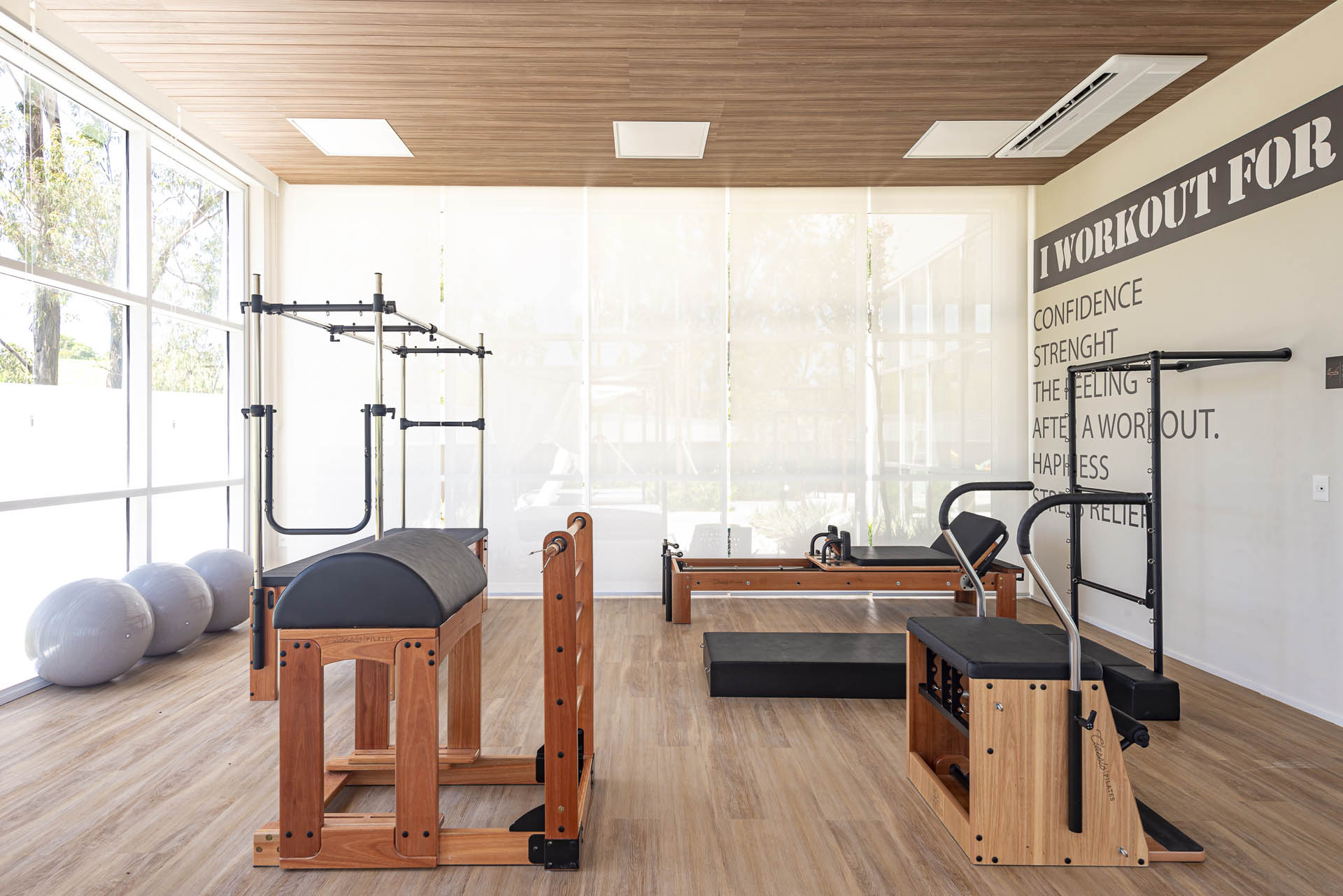 Foto da Sala de Pilates