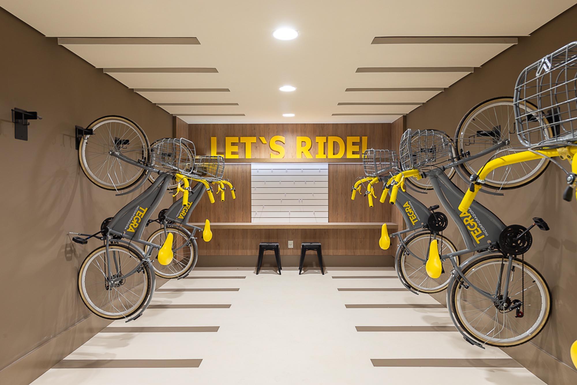 Foto do bicicletário