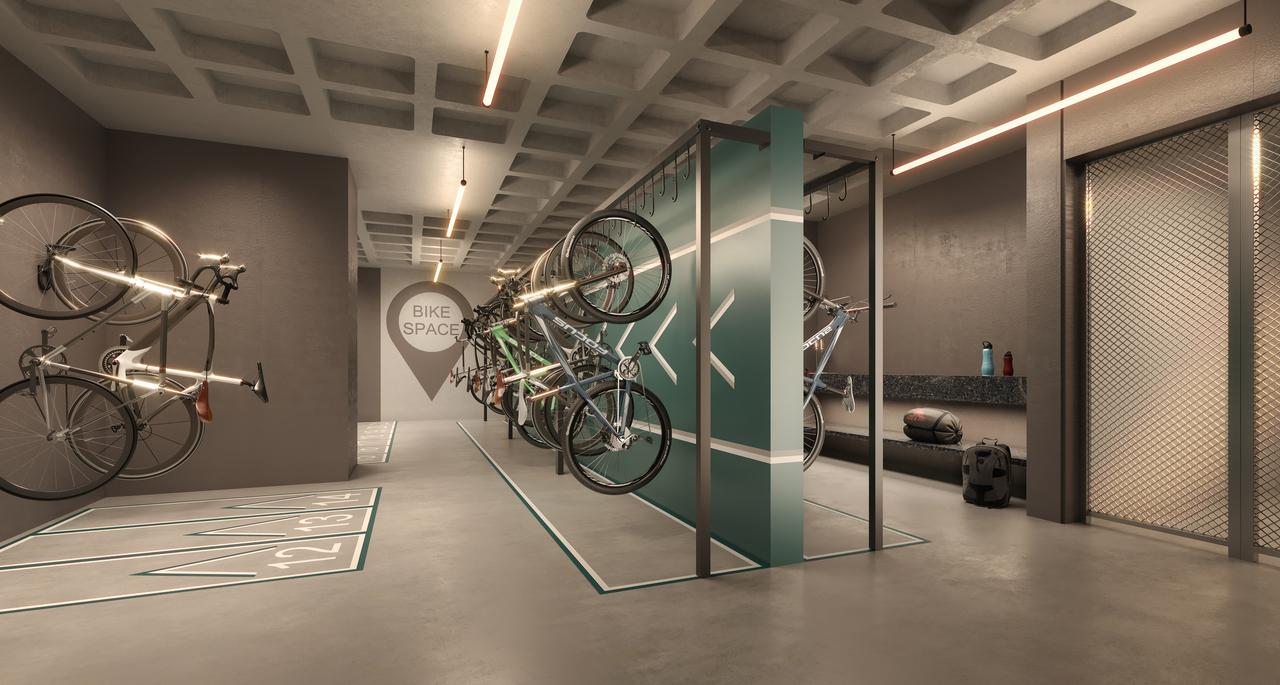Perspectiva do Bicicletário