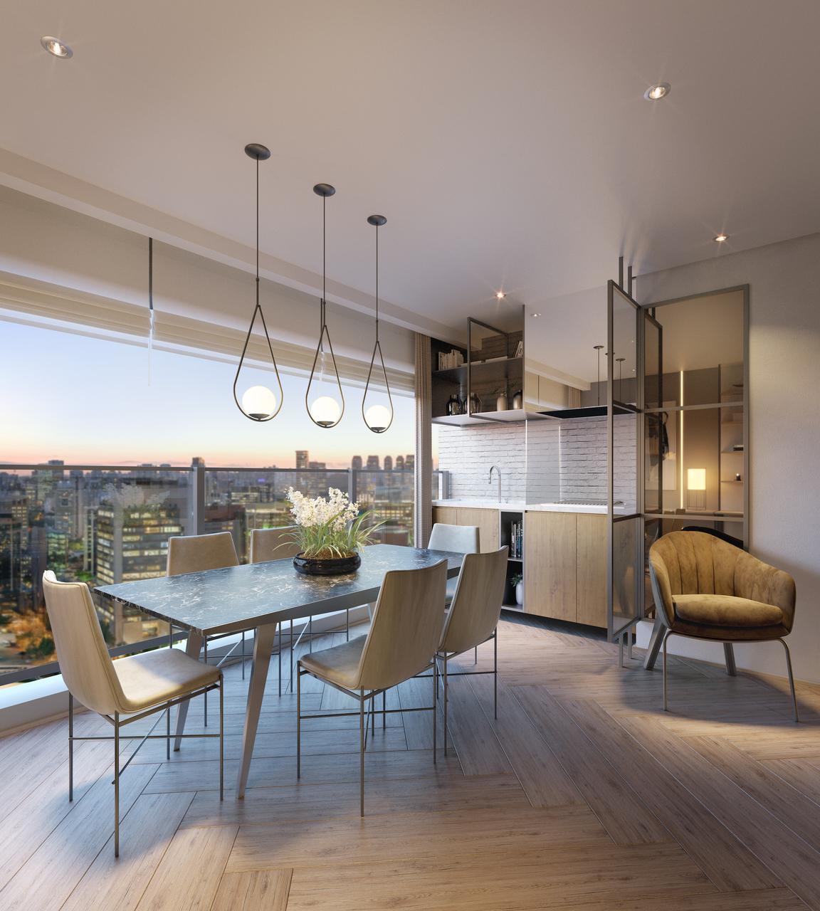 Perspectiva Apartamento 1 Terraço