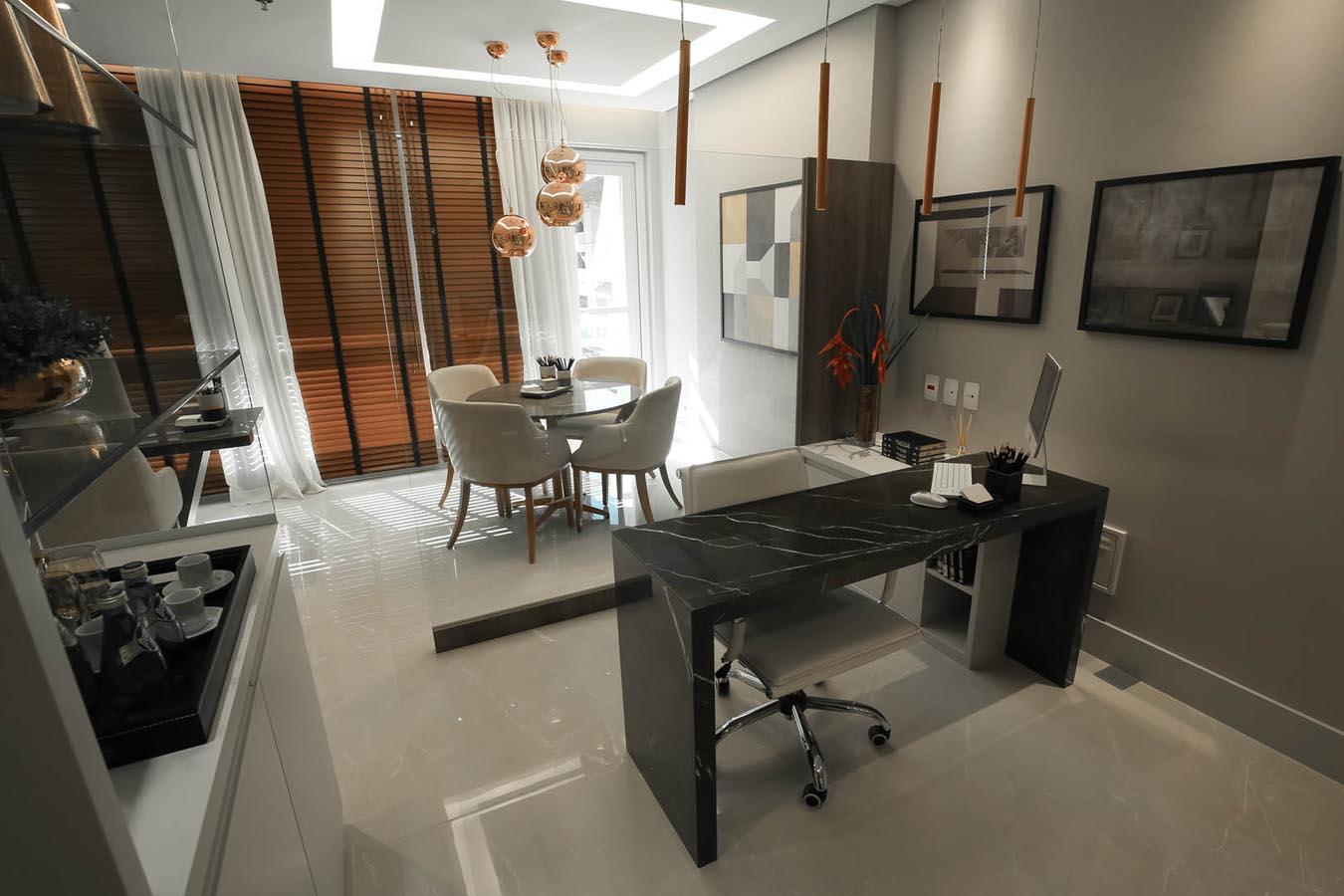 Foto da sala comercial de 36m² priv.