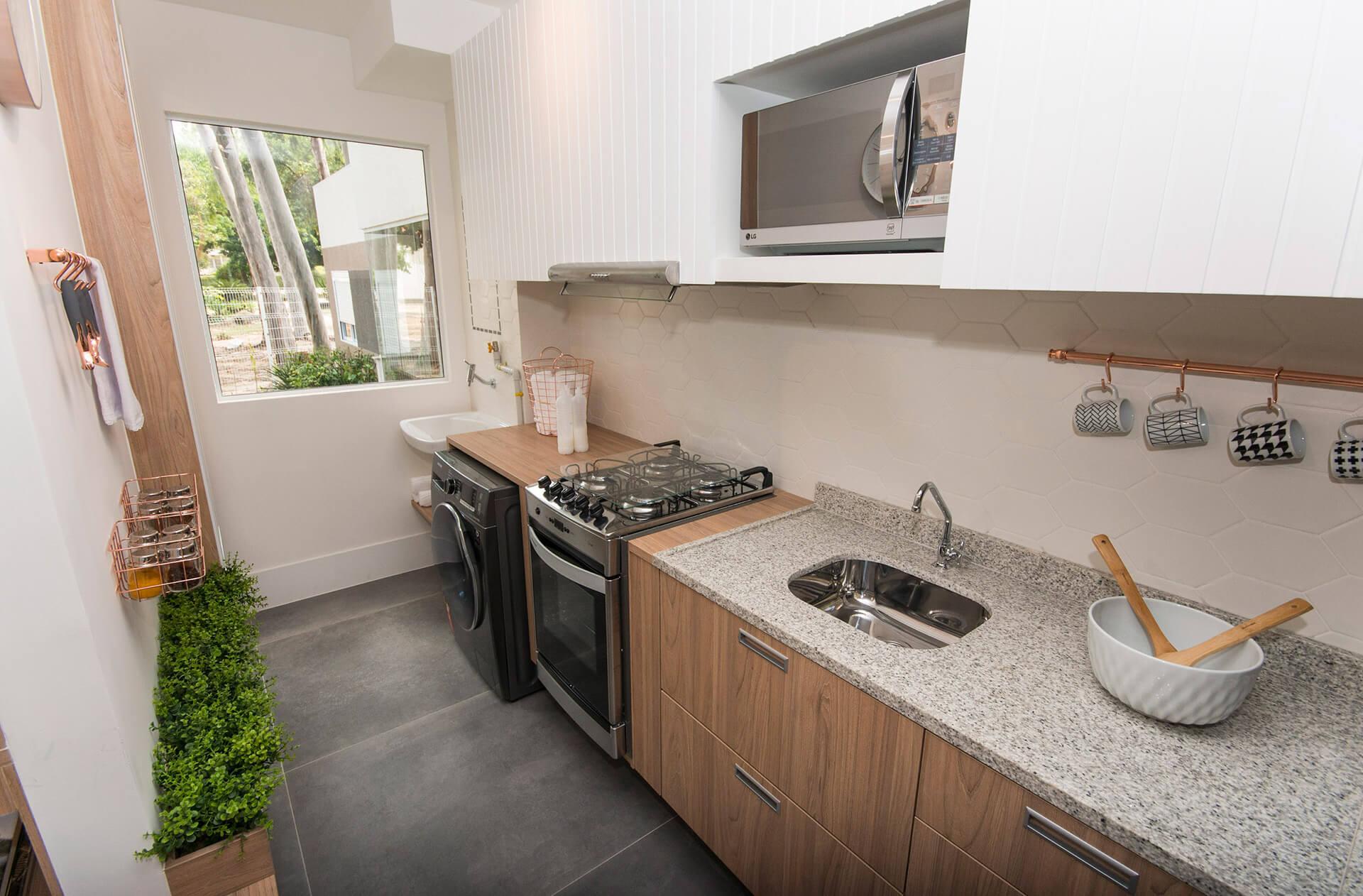 Cozinha De Apartamento Mrv Resimden Com -> Apartamento Mrv Decorado Fotos
